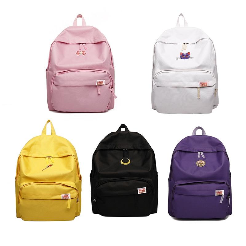 anime sailor moon Sailor Senshi luna Canvas Bag school backpack billetera sailor moon