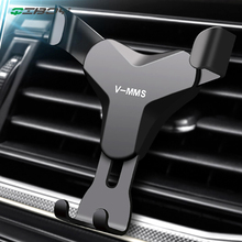 Gravity Reaction Car Mobile Phone Holder Clip Type Air Vent