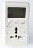 Free Shipping UK Plug WATT Power Energy Voltage Meter Monitor 240V