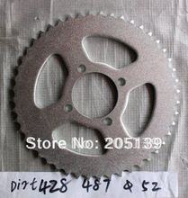 цена на motorcycle parts rear sprocket 48 tooth 428 chain  inner bore 52 mm  for Dirt pit bike