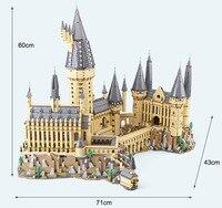 В наличии Лепин Поттер 16060 hogwartsi строительный замок набор кирпичи Волшебный мир забавная игрушка Конструкторы для детей