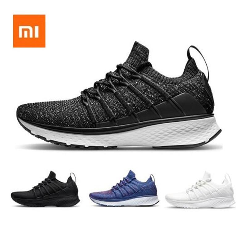 Original Xiaomi Mijia Smart Running Shoes Sports Professional Fashion IP67 Waterproof Uni moulding Techinique Fishbone for