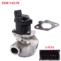 EGR valve fit For CITROEN C1 C2 C3 FORD PEUGEOT TOYOTA AYGO 1.4 HDI SU00100702 1618N8 1618PF 161846 9658203780 1333611 1363591