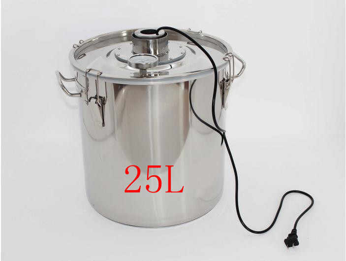 25L stainless steel fermenters thermostat fermenter liquor fermented wine fermented beer fermenters