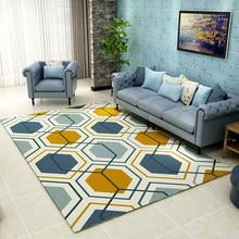 Geometric Carpets for Living room Bedroom Bathroom Home Nordic Blanket Carpet teppich Rugs Floor Rectangle Modern Soft Area Rugs