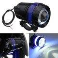 1pc Cree Chip U3 led headlight Spot light Spotlight 12v 30w Waterproof Led Driving Fog Head light Angel Eye Lamp Black