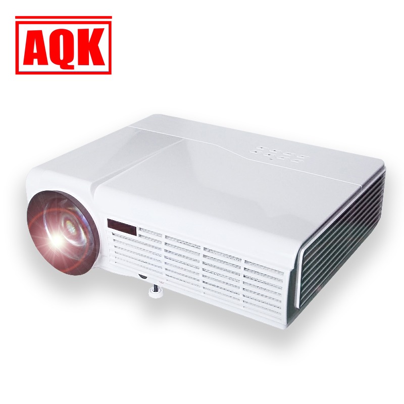 Hd Home Theater Multimedia Lcd Projector: 5500Lumens HD Home Cinema Theater Multimedia LED LCD