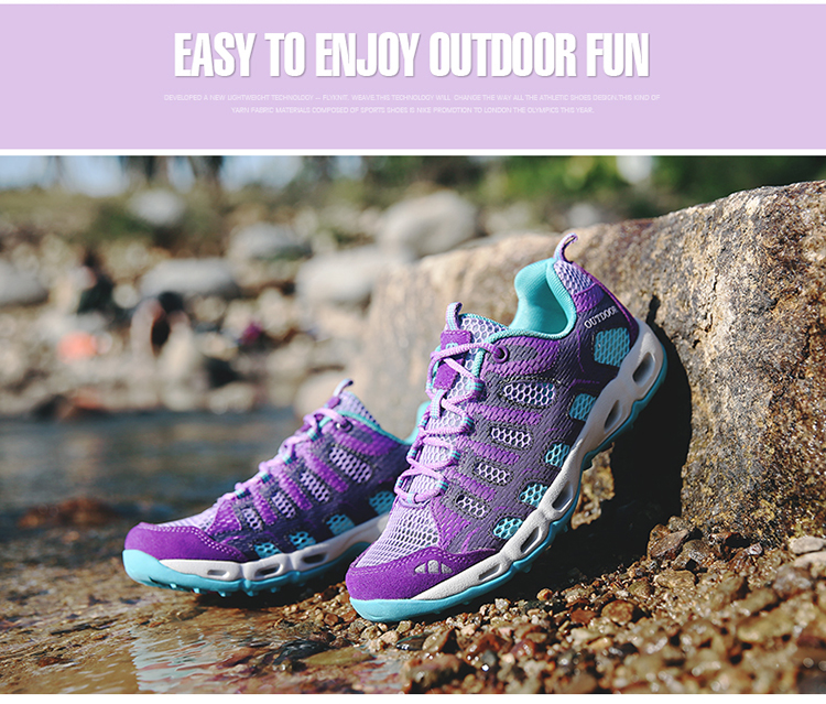 New 2017 Summer Unisex Aqua Shoes Air Mesh Clorts Outdoor Shoes Women Sneakers Lace Up Breathable Hiking Shoes Size 35-44 V1 (30)