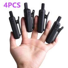 Mini walkie talkie leixen de 16 canais, 4 unidades, VV-109 woki toki, 1 w, frs, tamanho pequeno, crianças, dois sentidos para restaurante
