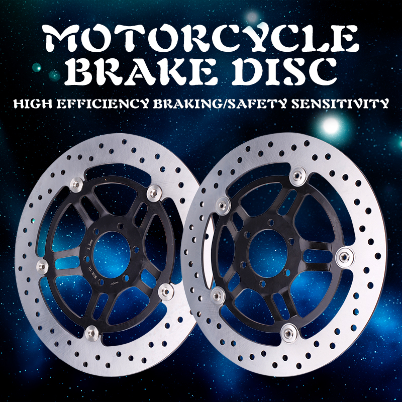 Motorcycle high quality front Brake Disc Rotor Plate Brake Disks For Honda Hornet 250 Hornet250 CB250 Motorcycle Accessories 125cc cbt125 carburetor motorcycle pd26jb cb125t cb250 twin cylinder accessories free shipping