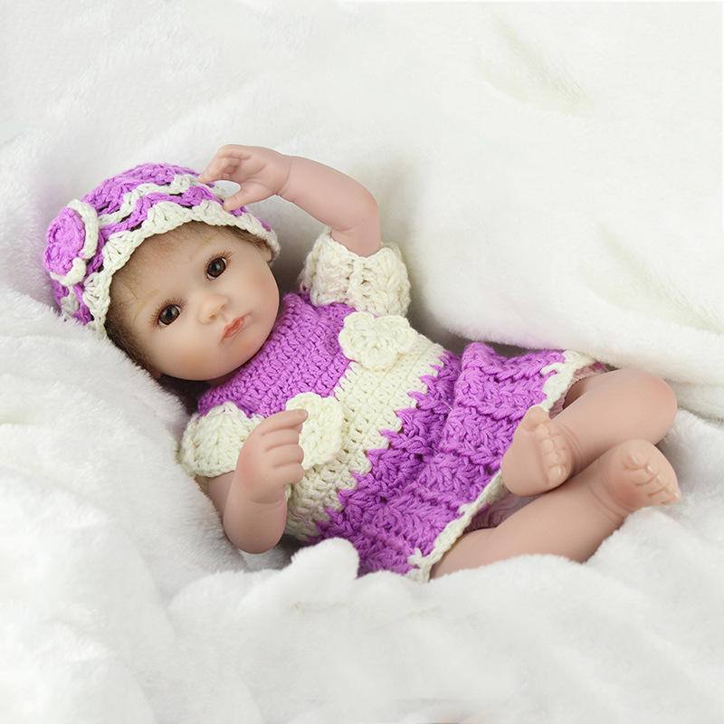 45 cm Baby Reborn Dolls Realistic BaBe Reborn Soft Silicone Dolls For Girls Lifelike Baby Doll Toy Christmas Gift handmade chinese ancient doll tang beauty princess pingyang 1 6 bjd dolls 12 jointed doll toy for girl christmas gift brinquedo