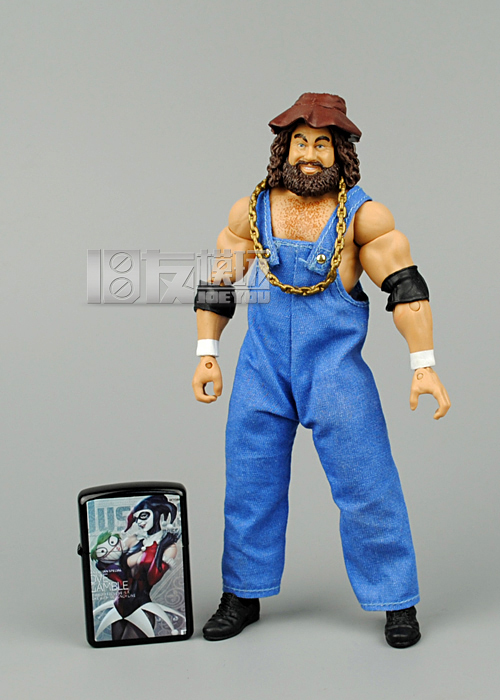 16CM High Quality Classic Toy Super Movable Wrestler Occupation Wrestling Jim Fighter Action Figure Toys