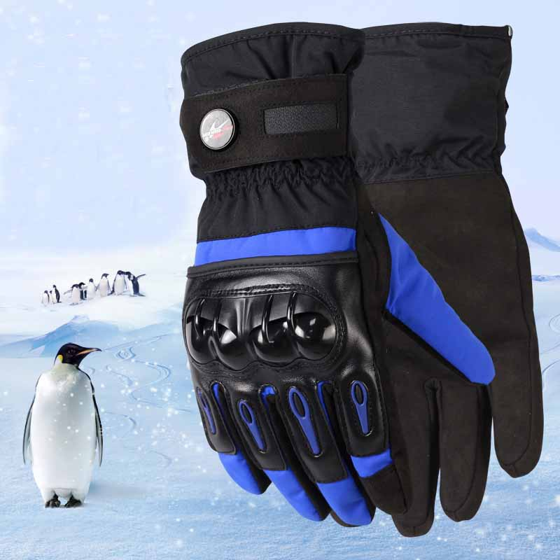Winter Windproof Waterproof Motorcycle Gloves Protective Gloves Motocross Riding Gloves CZ