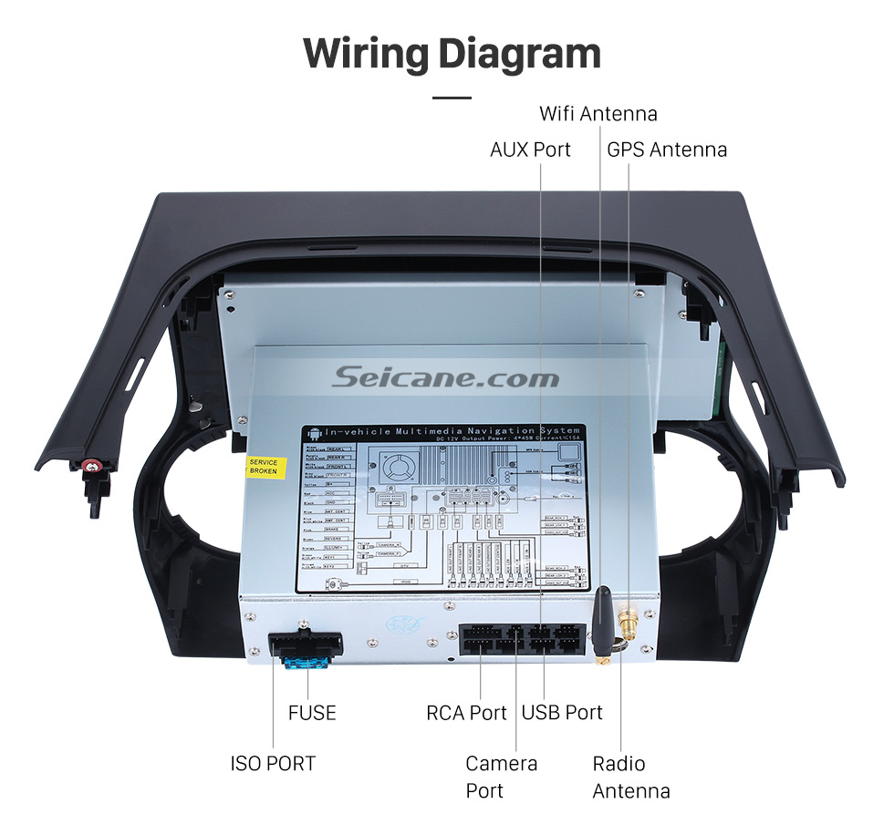 101 Inch Gps Navigation For 2011 2016 Jeep Wrangler Radio Android Yj Wiring Diagram Breaks Hd Touch Screen 2012 2013 50