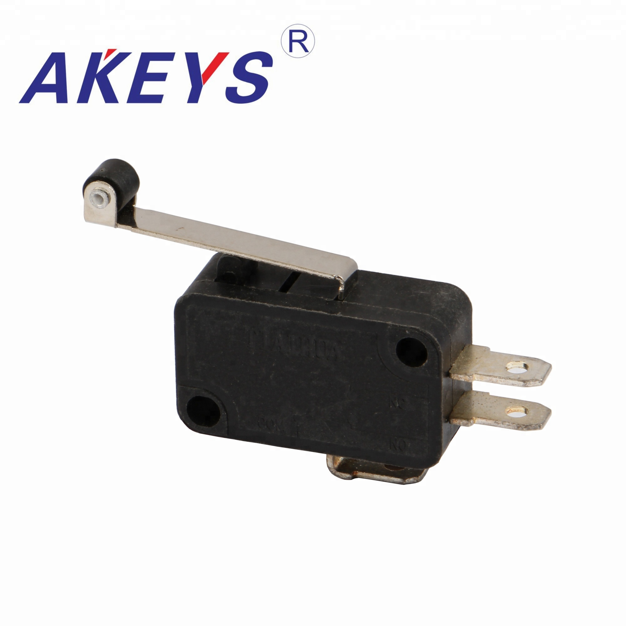 10PCS MS-019 2pins Large micro switch with wheel roller lever