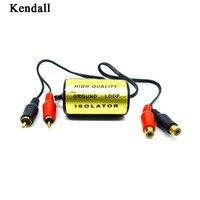 RCA filtr szumów audio tłumik izolator pętli uziemienia do samochodu i domu Stereo w Przewody głośnikowe od Samochody i motocykle na