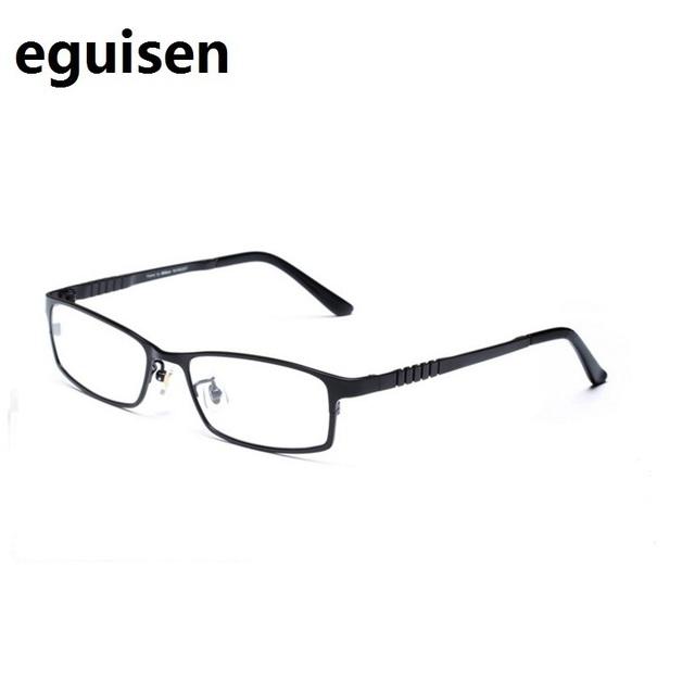 58-18-135 gafas hombres pure titanium miopía marco de los vidrios ultra-ligero de fotograma completo de alta elasticidad gafas 9828 envío gratis
