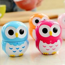 Kitchen Timers Mechanical 60-Minutes Cooking Cartoon Cute Plastic Owl Home-Decor Easy-To-Use