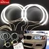 HochiTech CCFL Angel Eyes Kit Warm White Halo Ring 131mm 4 For BMW E36 E38 E39