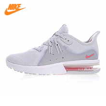 NIKE AIR MAX SEQUENT 3 Men's Running Shoes, White Grey, Shock-absorbing, Breathable, Breathable 921694-012 921694-060