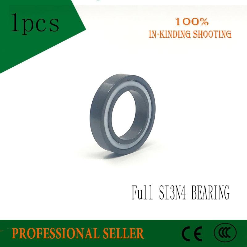 1PCS 6803 Full Ceramic Bearing 17*26*5 Mm Si3n4 Material 6803ce All Silicon Nitride Ceramic 6803 SI3N4 Ball Bearings цена