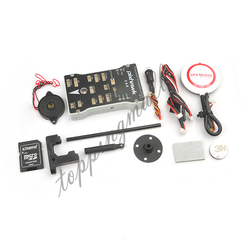 Pixhawk 2.4.8 PX4 Autopilot PIX 32 Bit Flight Controller with Mini Ublox NEO M8N GPS Built In Compass / GPS Stand gold plated socket pixhawk px4 autopilot pix 2 4 6 flight controller 32 bit arm set with ublox neo 6m gps for rc fpv helicopter