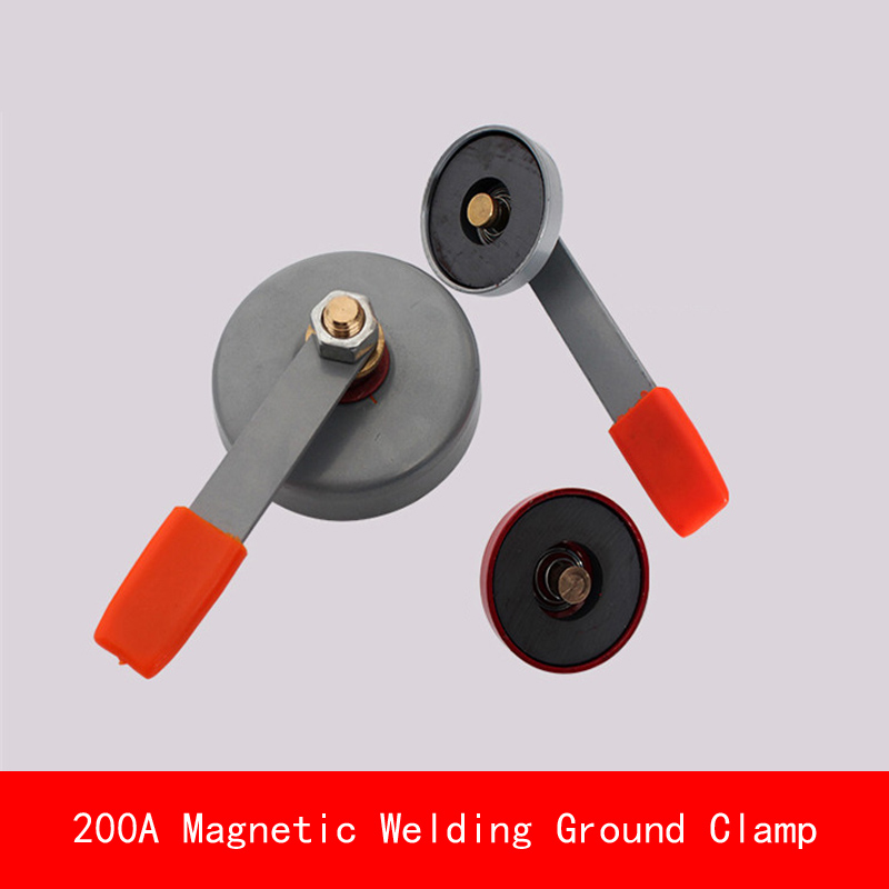 max electric current 200A Magnet Magnetic Welding Ground Clamp Sucker