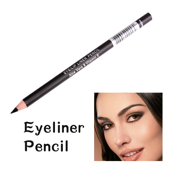 Black Eyeliner Pencil Waterproof Eyebrow Pencils Eyes Makeup Eye Brow Pen Cosmetic 2018 Hot Selling HB88 cartoon doll style waterproof eyeliner for makeup cosmetic yellow