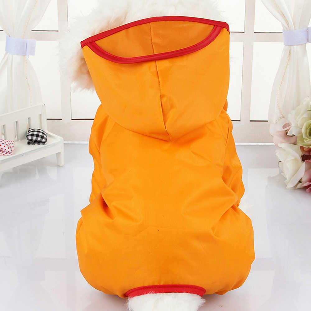 Одежда для питомцев, собачий кошачий плащ для маленький средний большой толстовка с капюшоном для собак собачий продукт щенок дождевик водонепроницаемая куртка в летняя одежда