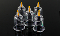 10 pcs 34mm Thickened U shape vacuum cupping acupuncture massage knee joint cans