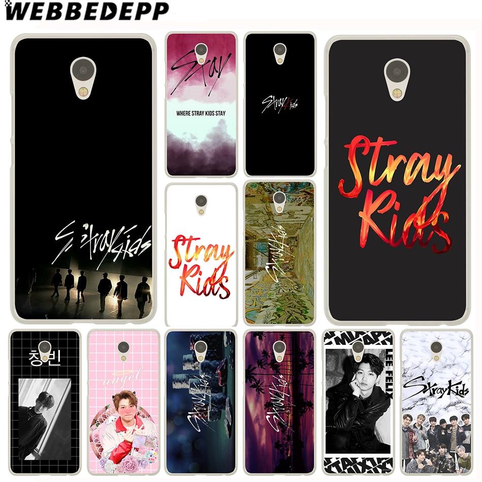 WEBBEDEPP Stray Kids K Pop Case for Meizu M3 M3S Mini M5C M5S M5 M6 Note M6S Cover