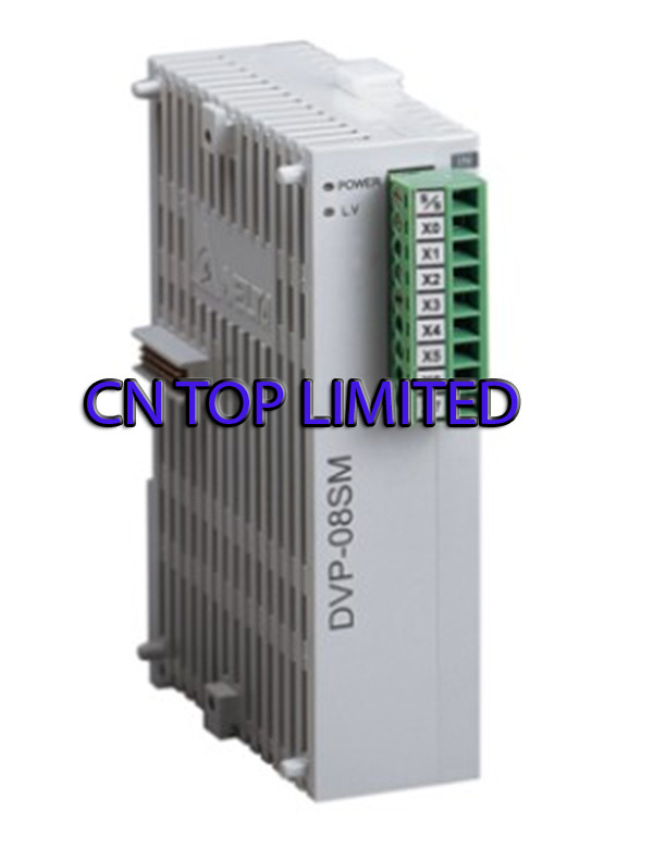 DVP08SM11N Delta S Series PLC Digital Module DI 8 new in box dvp16sp11t delta s series plc digital module di 8 do 8 transistor npn new in box