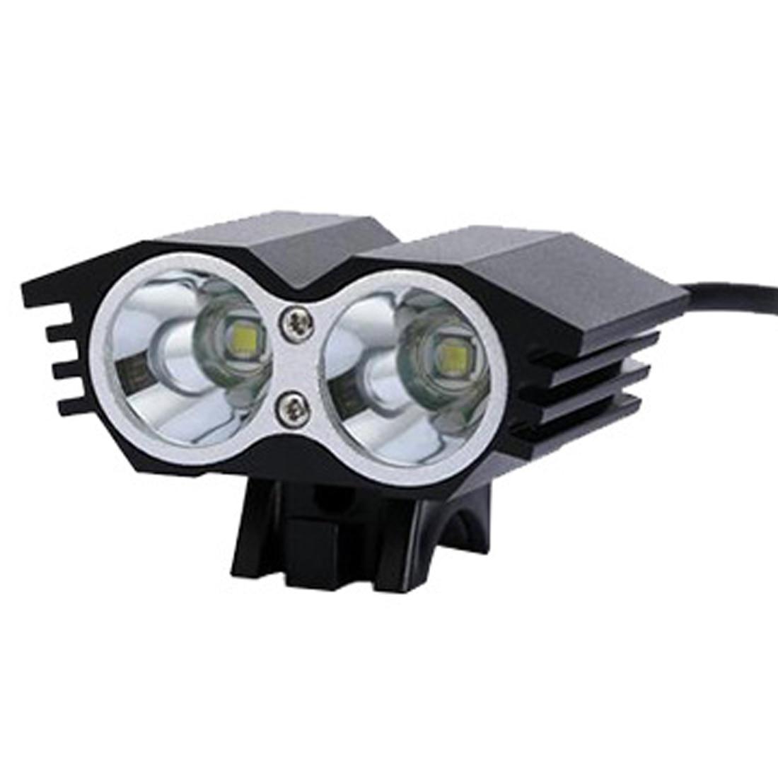 Haute Qualité Vélo Lumière LED lumière vélo lampe de vélo de bicyclette Batterie Pack + Chargeur vélo de montagne bisiklet aksesuar dans Vélo lumière de Sports et loisirs