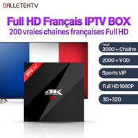 H96 Pro Plus French IPTV Box Android 7 1 Full HD With 3500 Live SUBTV Code