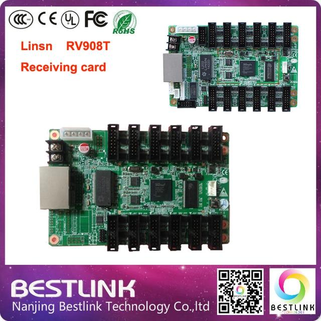 Linsn RV908T из светодиодов получения карты видео карты 256 * 1024 пикселей для из светодиодов экран системы TS801 TS802 из светодиодов для rgb из светодиодов дисплей