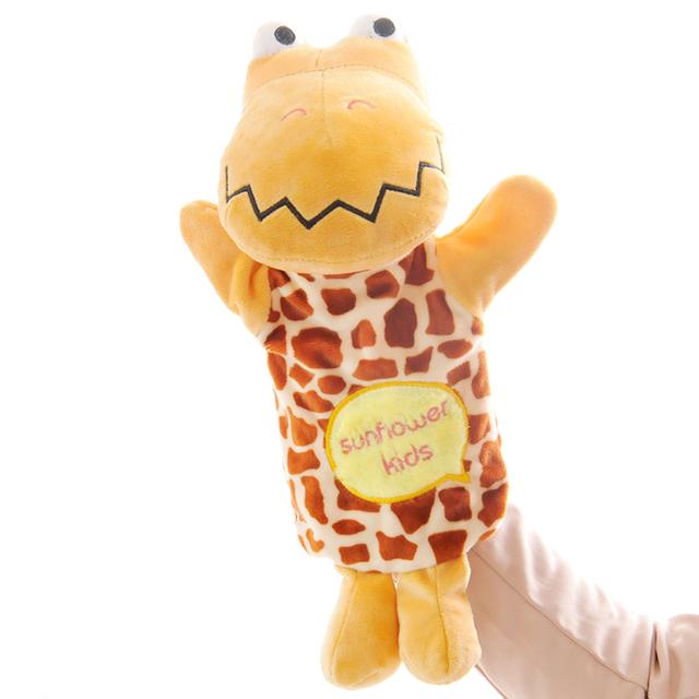 RYRY Cute Crocodile and Bear Hand Puppet