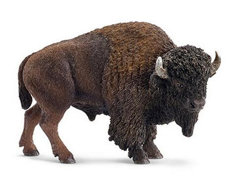 cattle animal model Bull of Schleich wild bison ornaments Animal arts and crafts room Home Furnishing figurine