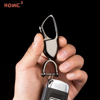 Car Metal Men Keyring Auto Upscale Keychain High End Key Ring For BMW Mercedes Land Rover