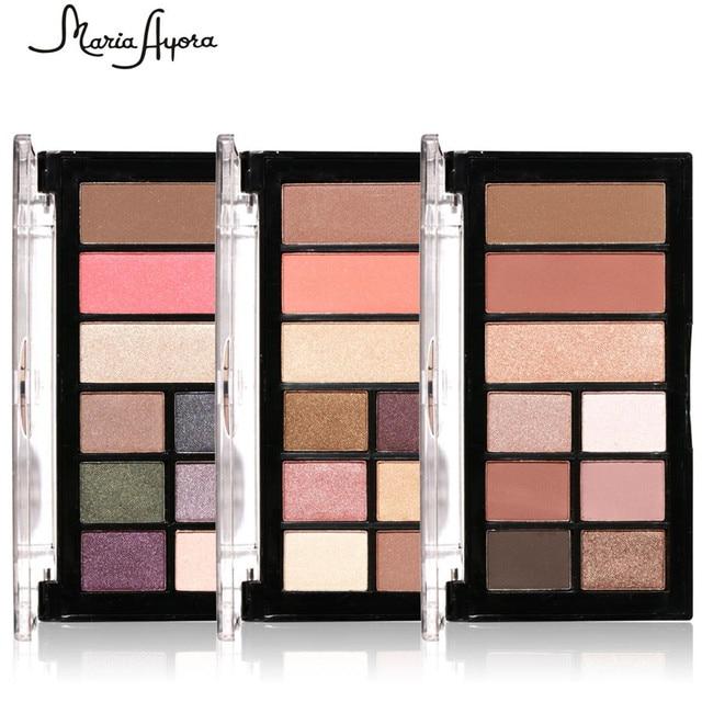 24pcslot Maria Ayora 9 Color Eye Shadow Combo Palette Eyeshadow 3
