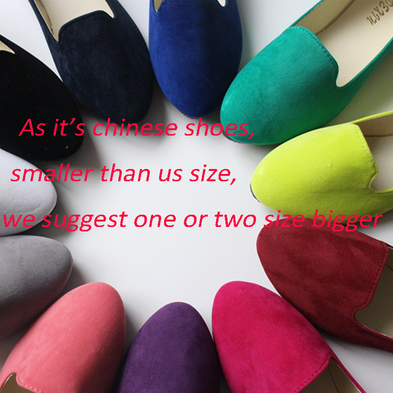 Plus Size Shoes Women Flats Candy Color Woman Loafers Spring Autumn Flat Shoes Women Zapatos Mujer Summer Shoes Size35-43 1