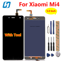 100 Original LCD Display Screen Touch Screen Replacement For Xiaomi 4 M4 Mi4 Cell Phone In