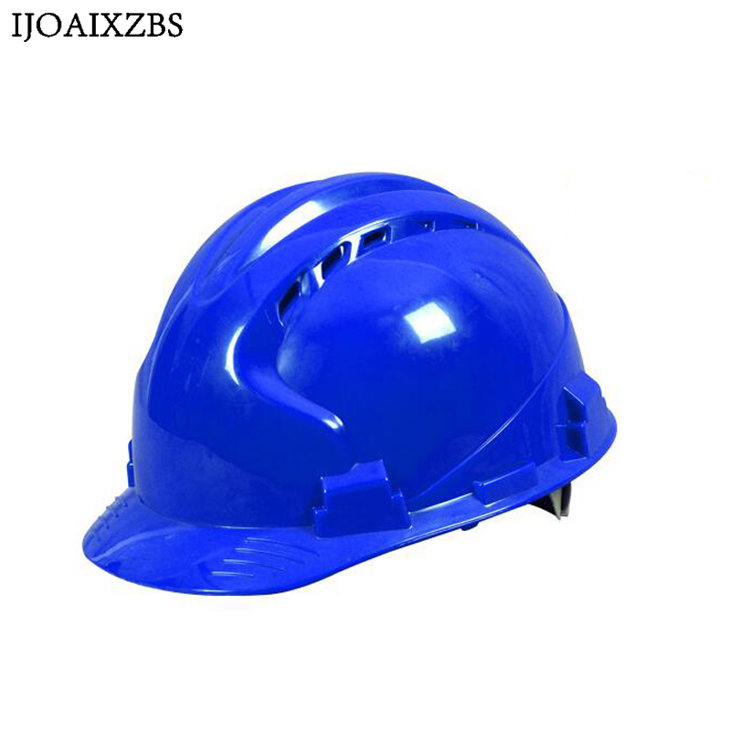 Helm V Pe Material Baustelle Bau Hut Benutzerdefinierte Beschriftung Schutzhelm