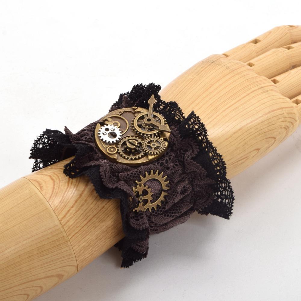 steampunk wristband watch