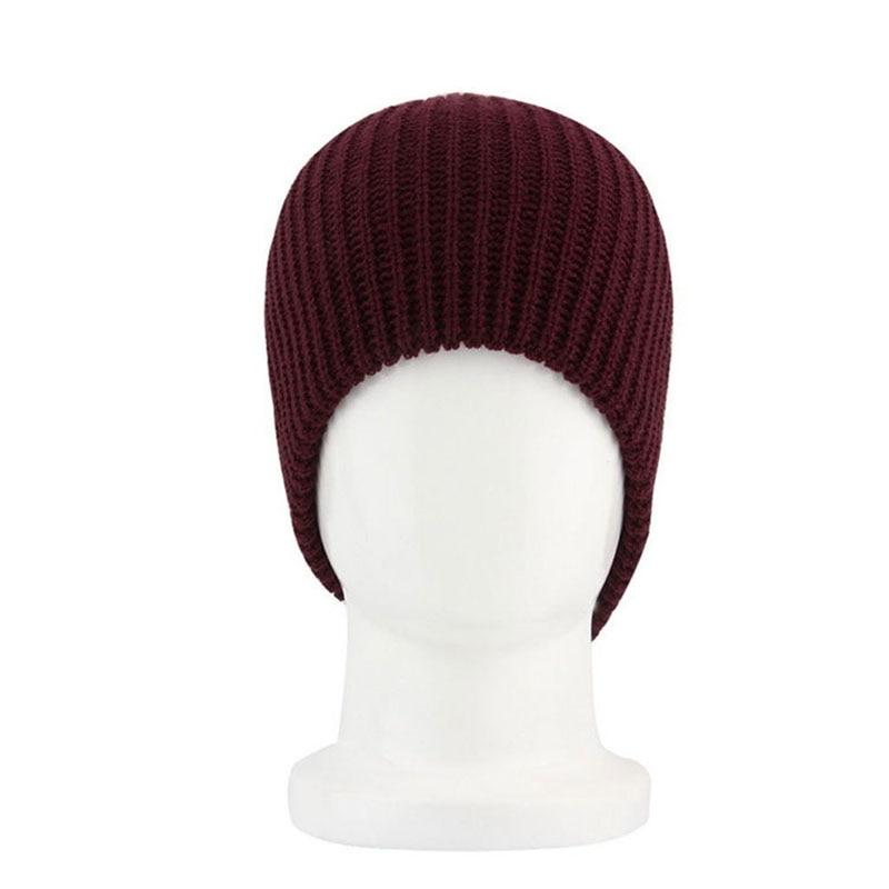 Unisex Chic Men Women Warm Winter Knit Beanie Skull Slouchy Oversize ...
