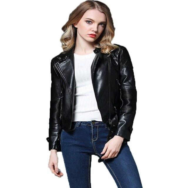 Aliexpress.com : Buy 2017 New Women Punk Leather Jacket Spring ...