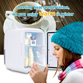 4L Car Mini Fridge 12V Freezer Cooler Warmer Heating Food Electric Portable Icebox Travel Refrigerator Box ABS No Compressor