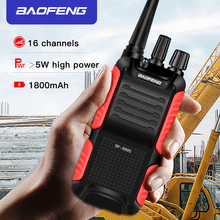 BF-999S Plus 999S Walkie Talkie Baofeng 5W 1800mAh UHF 16 Channel Long Distance Portable Two Way Radio Upgrade BF-888s CB