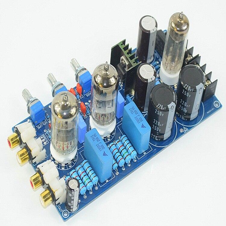 K. GUSS préampli tube tube amplificateur audio conseil fièvre 6N1 bile conduit conseil