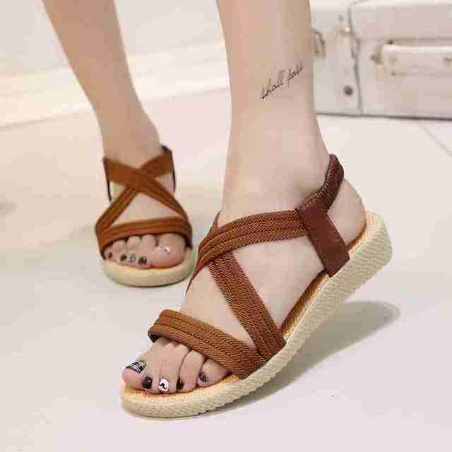 Platforms Ladies Shoes Woman Summer Ladies Sandals Sexy Women Platform 2017  Flat latest For Open Toe
