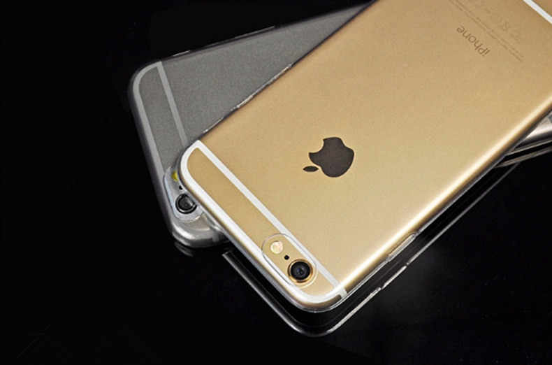 Clear Crystal Sleeve Case For iPhone 5 5s 6 6s 6 Plus 6s Plus 7 Plus Ultra Slim Thin Soft TPU Phone Cover Silicone Case Coque